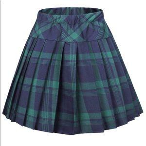 Dolls Kill Pleated Skirt